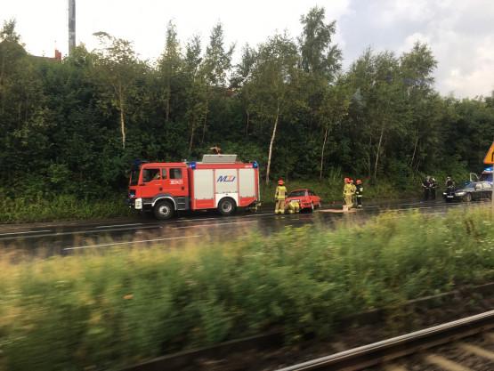 Wypadek na Armii Krajowej do centrum Gdańska