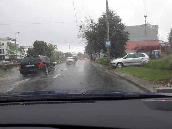 Al. Zwycięstwa w Gdyni zalana