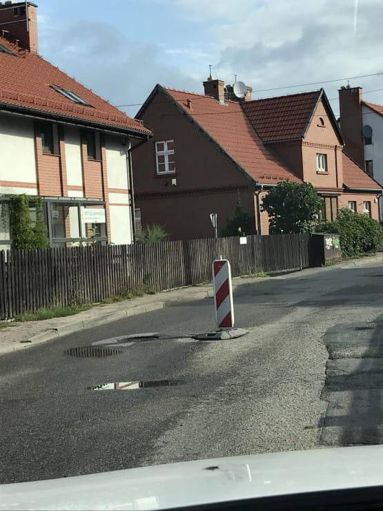 sposób na dziury w Gdyni