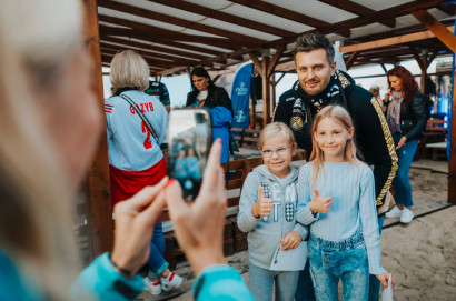 Trefl Gdańsk zastosował podstęp na prezentacji siatkarzy. Zobacz zdjęcia