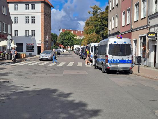 Policja zabezpiecza Marsz Równości