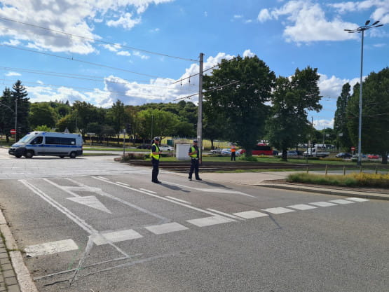 Policja zamknęła wjazd na Błędnik