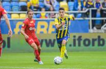 Arka Gdynia - Odra Opole 3:0. Zmiana ustawienia przyniosła pewne zwycięstwo