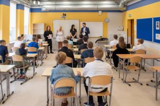 Ruszył rok szkolny 2021/2022. Uczniowie wrócili do nauki