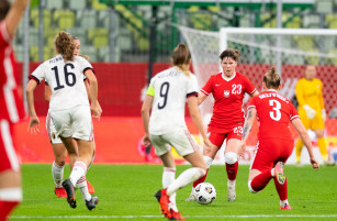 Polska - Belgia 1:1 w el. MŚ. Rekord frekwencji na meczu piłkarek