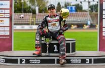 Oskar Fajfer mistrzem I ligi, Jakub Jamróg trzeci w Gdańsku