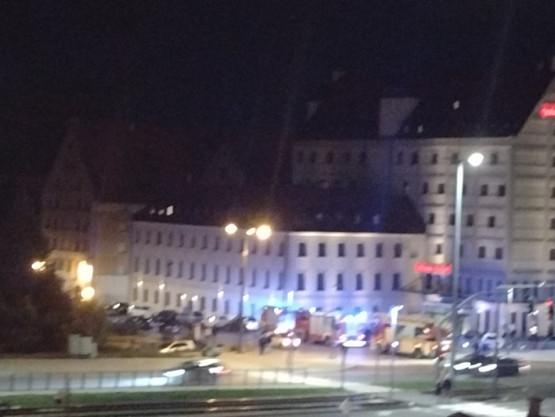 Straż pożarna Hotel Qubus