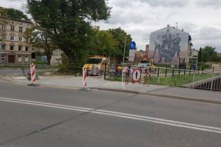 Budowa przejazdu rowerowego na Podmiejskiej
