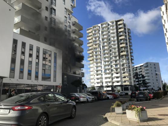 Pożar na Rzecczpospolitej 4d