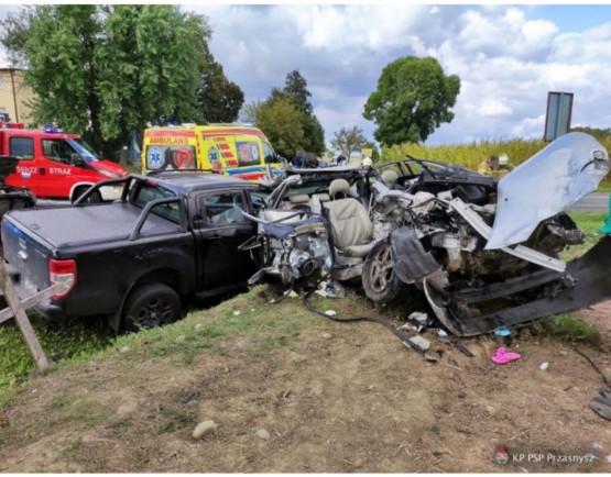 Tragiczny wypadek kibiców Lechii