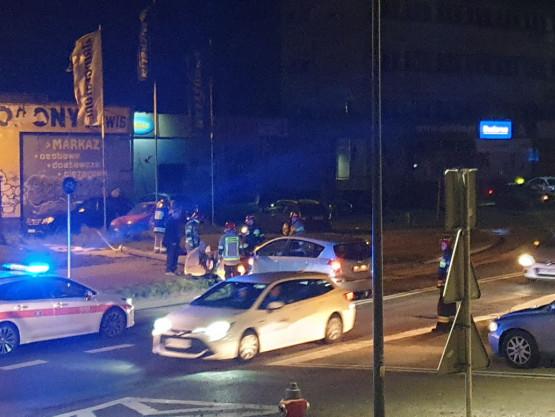 Wypadek na Unruga i Żelaznej w Gdyni