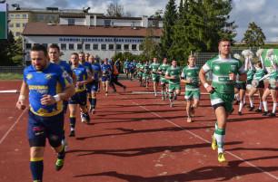 Ekstraliga rugby. Lechia  - Arka  30:26, Pogoń - Ogniwo 14:57