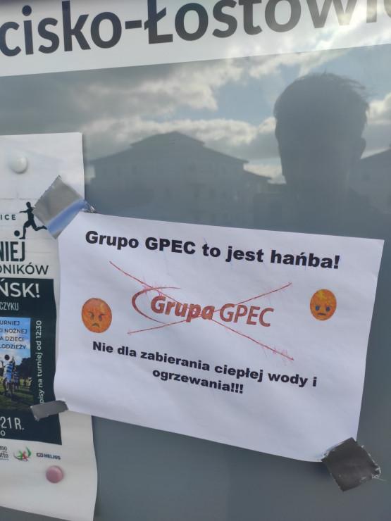 Lokalny protest na Zakoniczynie