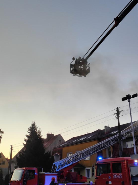 Pożar budynku na ul. Bolesława Krzywoustego