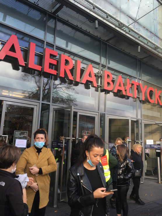 Galeria Bałtycka zamknięta