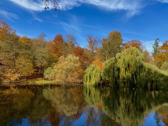 Gdańsk jesiennymi kolorami malowany.