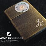 Grawer grawerowanie zapalniczka zippo inicjały na biżuterii głębokie