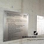 Grawer grawerowanie stal nierdzewna tablica duża gdańsk stadione pge arena piamiątkowa montaż