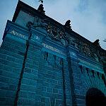 Brama Wyżynna zmieniła swój kolor na niebieski