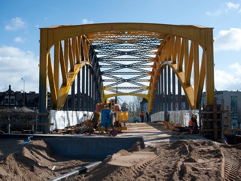 Żółty Wiadukt zamknięty z powodu budowy Nowej Wałowej