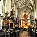 Wnętrze kościoła św Mikołaja