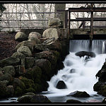 Park Oliwski - Wodospad
