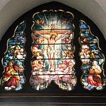 Witraż w Kościele Mariackim