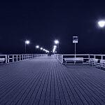 Molo w Orłowie wieczorem...