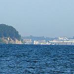 Z plaży Sopotu w stronę Gdyni