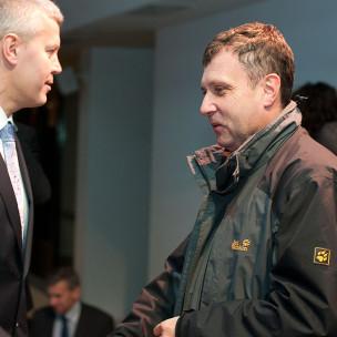 Michał Kaczorowski i Jacek Karnowski