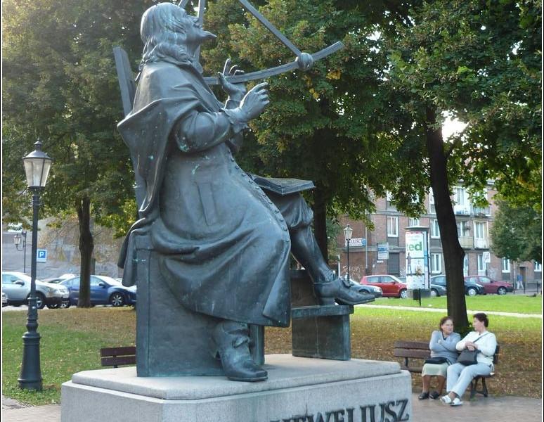 Gdańszczanie oddali hołd Janowi Heweliuszowi