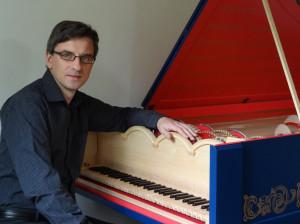 Sławomir Zubrzycki + viola organista - fot.Weronika Zubrzycka