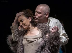"""Teatr Błękitna Sukienka """"Keefe, nie jestem królem"""" (fot. Adam Bogdan)"""