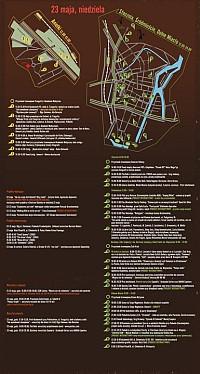 MAPKA IMPREZ - 23 MAJA (kliknij aby powiększyć)