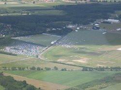 fot. trojmiasto.pl Tereny Festiwalowe z lotu ptaka