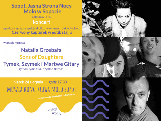 Sopot Jasna Strona Nocy - koncert na Molo