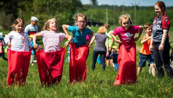 Kociewie Kołem Kids 2019 to nie tylko rowery, to także aktywny wypoczynek, gry, zabawy, konkursy oraz cała masa ciekawych nagród