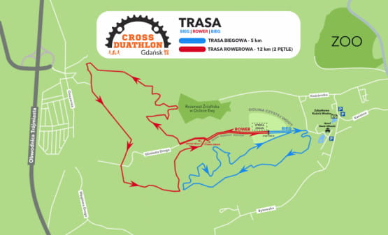 Trasa Cross Duathlon
