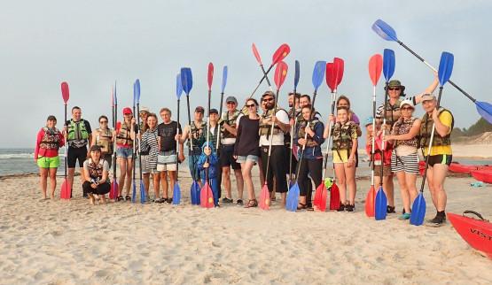 Chcesz się nauczyć pływać kajakiem? Poznać ciekawe, aktywne towarzystwo? Dołącz do nas   !