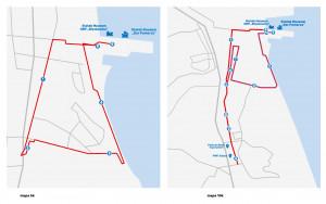 Trasa biegów na 5km i 10km