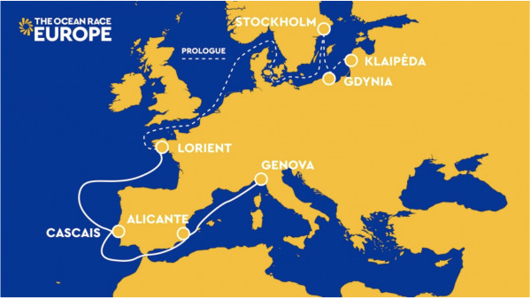 Trasa The Ocean Race Europe