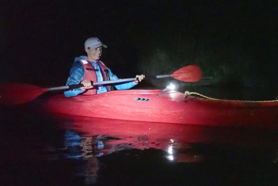 6,5 km odcinek rzeki pod osłoną nocy, to z pewnością niesamowita przygoda !