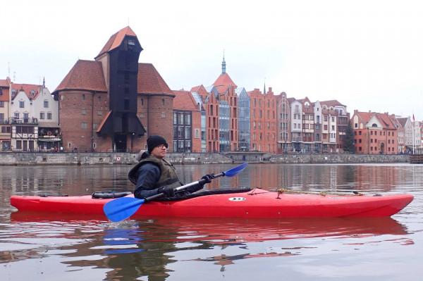 Poznaj Gdańsk od strony wody w licencjonowanym przewodnikiem. Połącz aktywny wypoczynek z wiedzą historyczną o grodzie nad Motławą