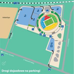 W tym roku organizatorzy proponują zostawienie samochodu przy Amber Expo i PGE Ergo Arena.