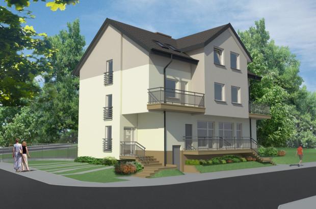 Obiekt wkomponowany zostanie w istniejącą zabudowę dzielnicy - u zbiegu ulic Derdowskiego i Targowej.