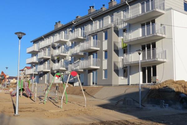 Wraz z pierwszym etapem osiedla oddany został także plac zabaw dla dzieci.