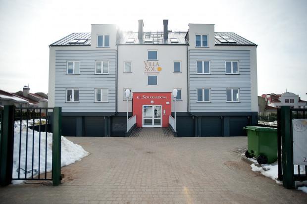 W budynku powstało zaledwie osiem lokali mieszkalnych.