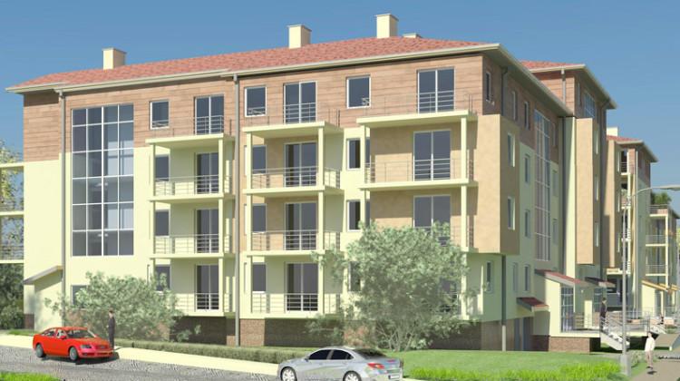 Do mieszkań na wszystkich kondygnacjach przynależeć będą balkony.