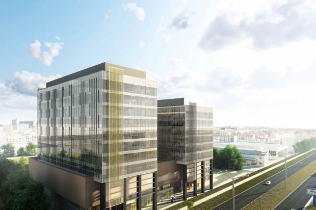 Pierwszy etap inwestycji: budynki sześcio i ośmiokondygnacyjny na wspólnej, czterokondygnacyjnej podstawie. W ziemi kryją się dwie kondygnacje garaży, kolejne dwie znajdują się na częściach naziemnych.
