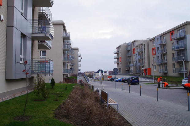 Oddane do użytku w 2012 roku budynki z etapu C są już częściowo zamieszkane.